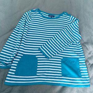 2x Jones New York crew neck sweater